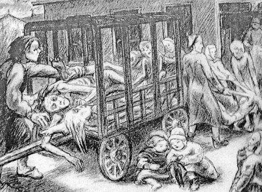 prisonnier camp de concentration