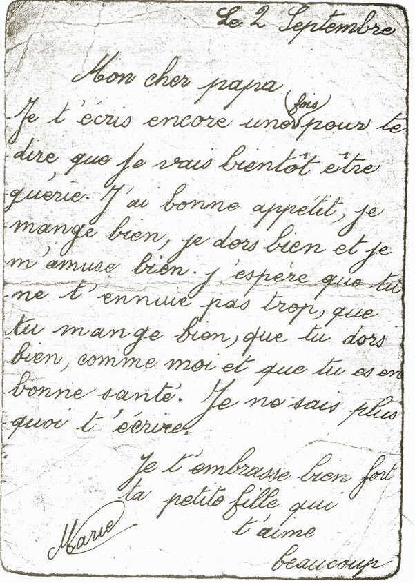 Les Dernières Lettres De Marie Jelen
