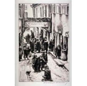 Scène de ghetto, 1933